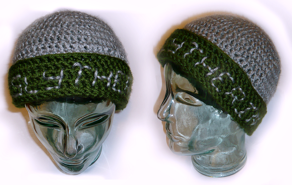 kates slytherin hat
