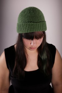 Green Hat Front