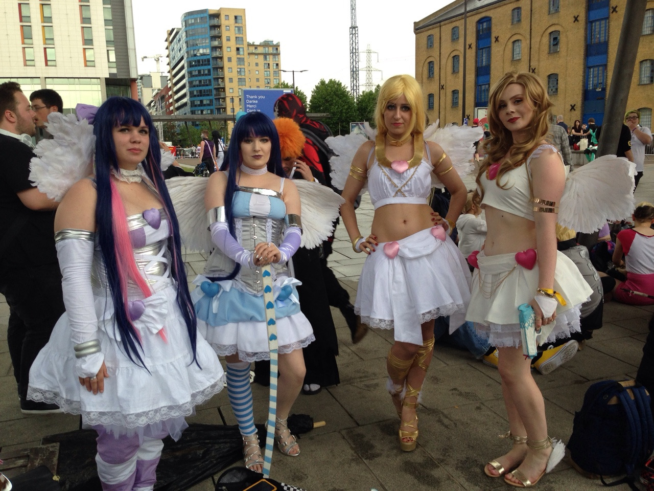 group panty and stocking