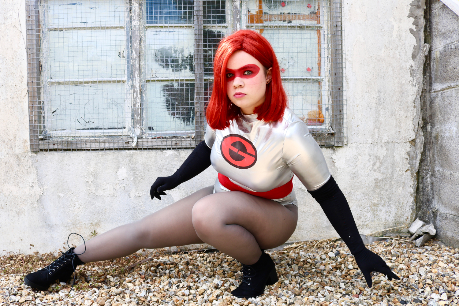 Elastigirl Ground Pose